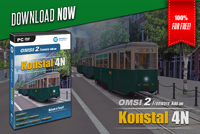 OMSI 2 Add-on Konstal 4N - GamesAry Market