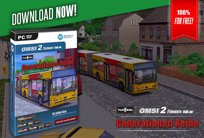 OMSI 2 Add-on VanHool Generationen Reihe - GamesAry Market